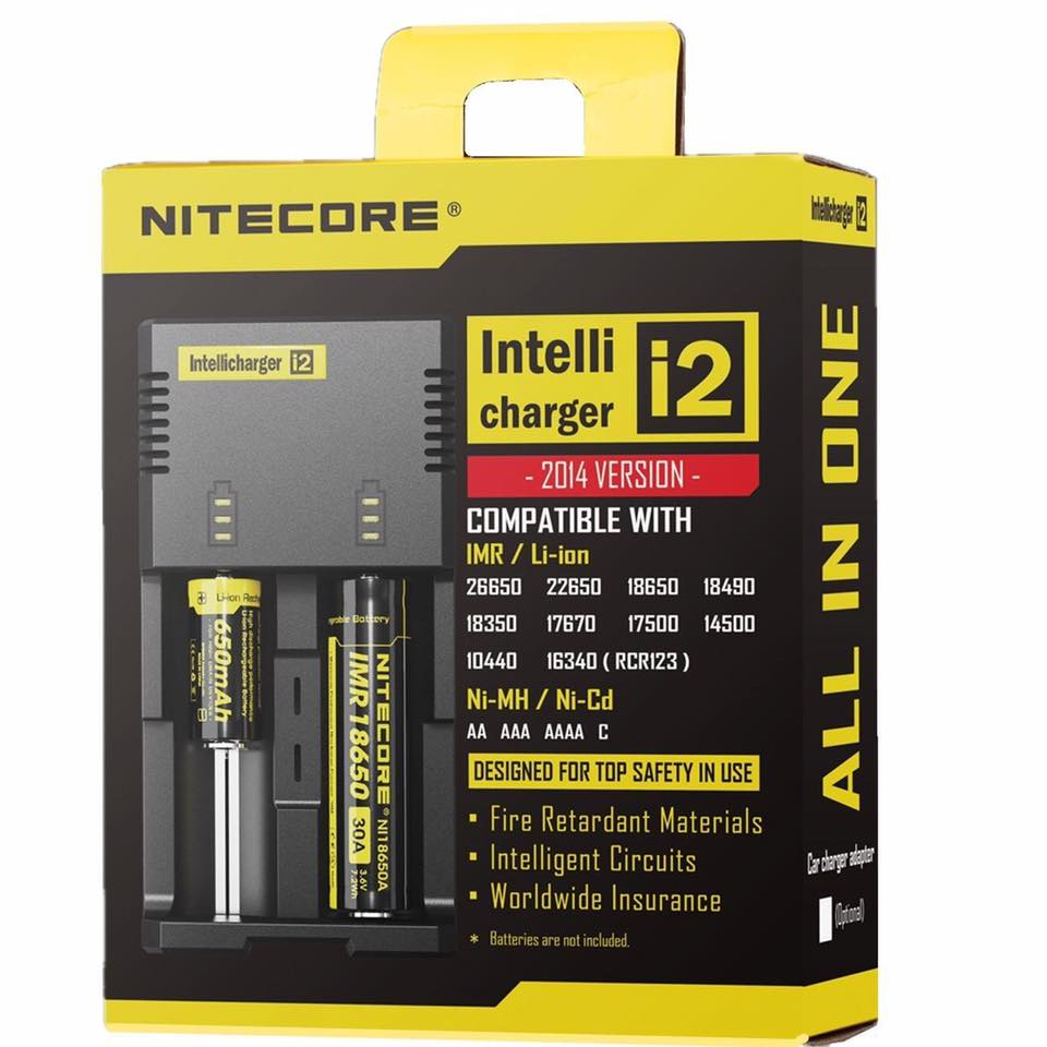 Chargeur Intellicharger i2 Nitecore